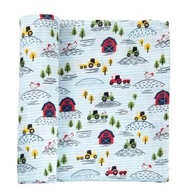 Mud Pie Mud Pie  Muslin Swaddle Blanket