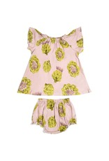 Milkbarn LLC Milkbarn Bamboo Dress and Bloomer Set