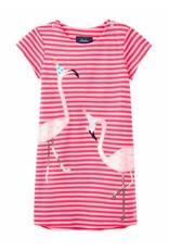 Joules Joules Kaye Short Sleeve Applique Dress