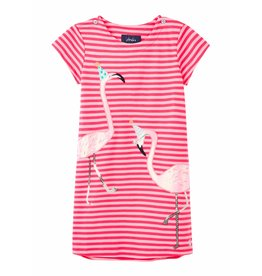 Joules Joules Kaye Short Sleeve Applique Dress