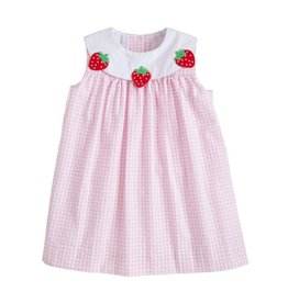 Little English Little English Fruit Bib Dress