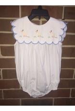 Honesty Clothing CO Honesty Duck Emb Girls Bubble
