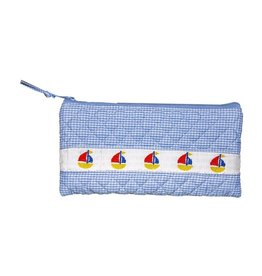MSC MSC Smocked Sailboat Accessory Pouch