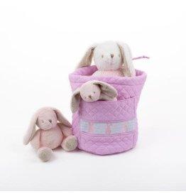 MSC MSC Bunny Smocked Ditty Bag