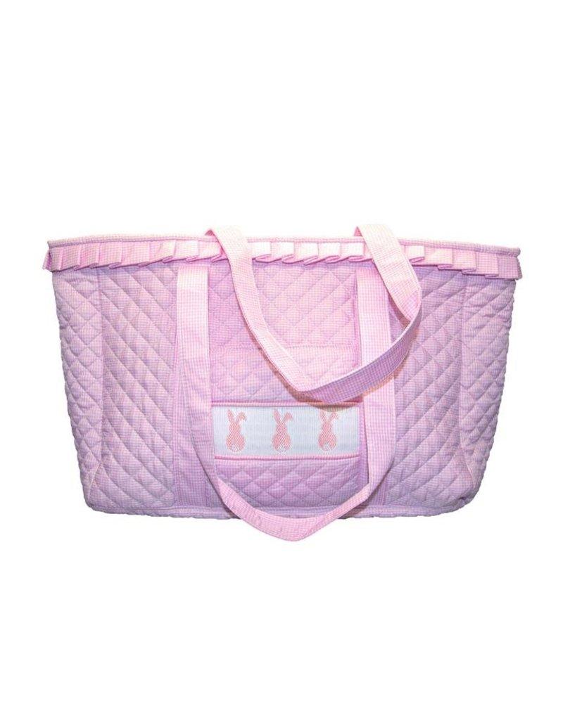 MSC MSC Smocked Bunny Tote Bag