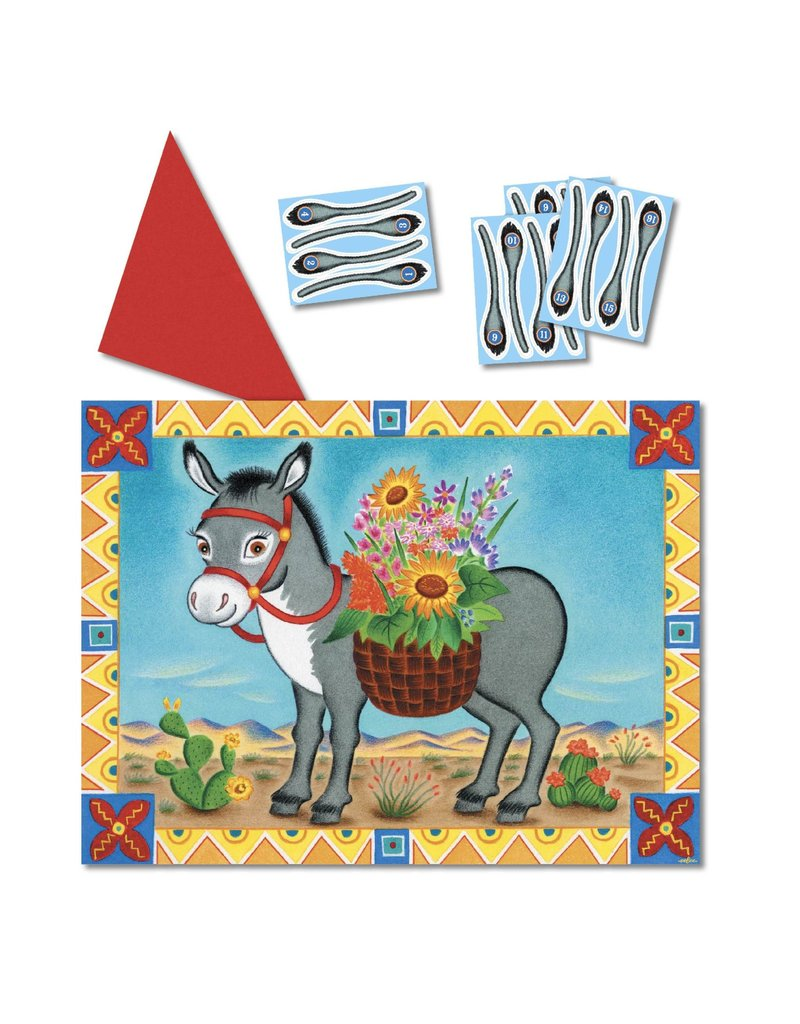 Eeboo Pin The Tail On The Donkey Game