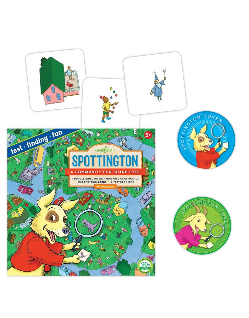 Eeboo Eeboo Spottington Board Game