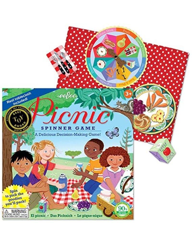 Eeboo Eeboo Spin to Play Picnic Game