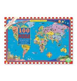 Eeboo Eeboo World Map 100pc