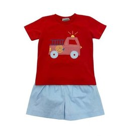 Honesty Clothing CO Honesty Fire Truck App Tee Boys Set