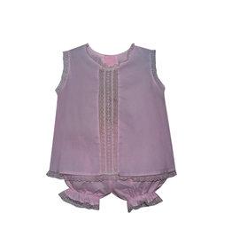 Sen Baby Sen Baby Pink Anna Bloomer Set