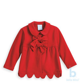Bella Bliss Bella Bliss Scalloped Lotus Coat