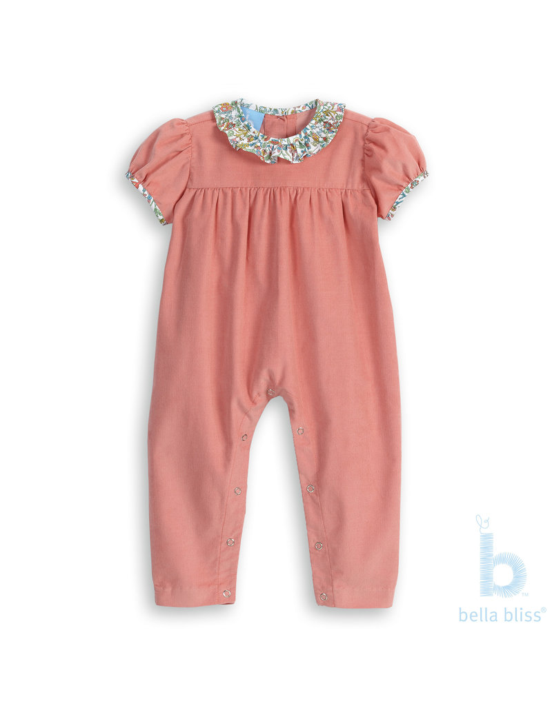 Bella Bliss Bella Bliss Ruffled Marney Romper