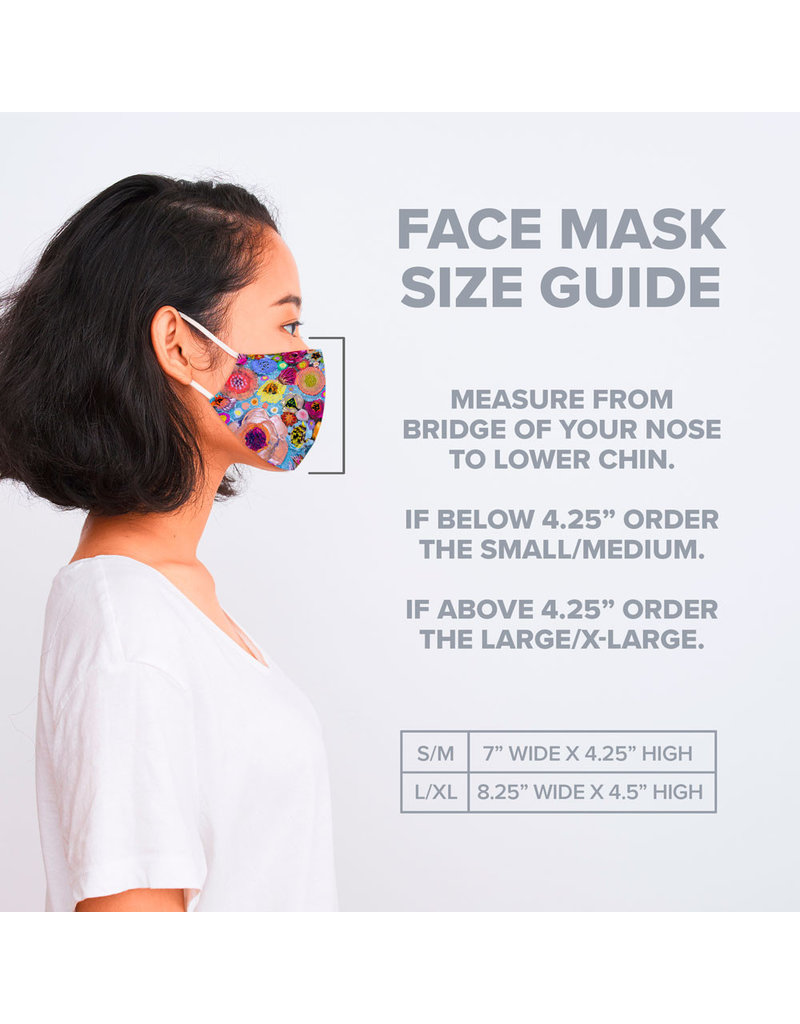 Green Box Greenbox Cotton Jersey Face Mask