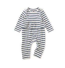 Tea Collection Tea Collection Striped Peplum Romper
