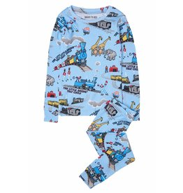 Books To Bed Hatley Boys Long Sleeve Pajama Set With Book