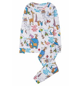 Books To Bed Books To Bed Long Sleeve Pajama Set with Book