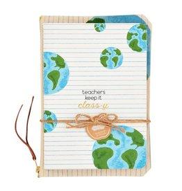 Mud Pie Mud Pie Teacher Notebook and Pouch