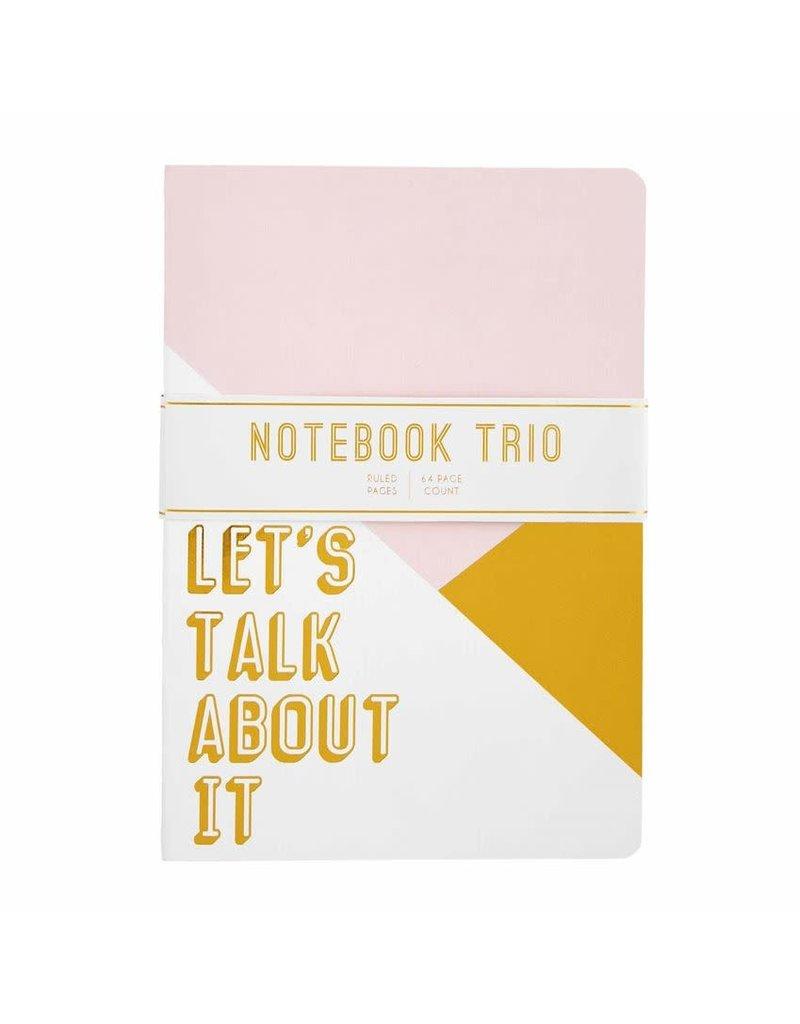 Mud Pie Mud Pie Notebook Trio