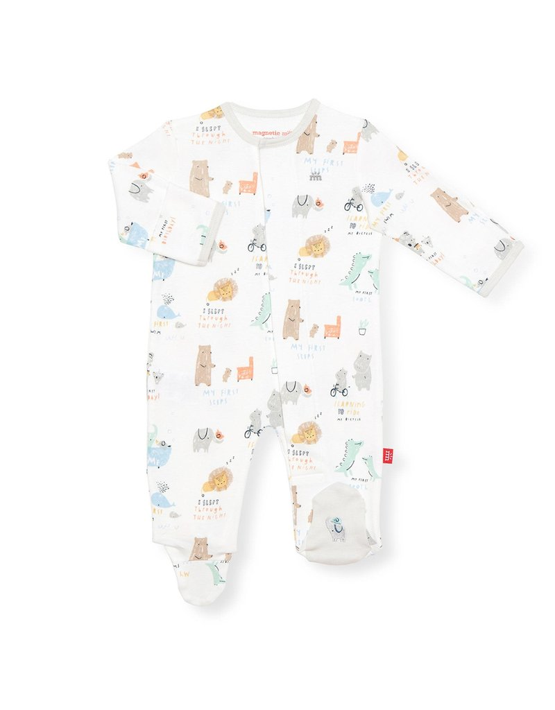 Magnificent Baby Magnetic Me Footie