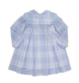 The Oaks The Oaks Quinn Blue Plaid LS Dress