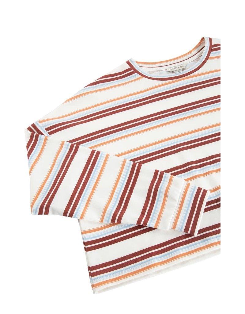 Habitual Girl Habitual Sloane Oversized Cropped Top