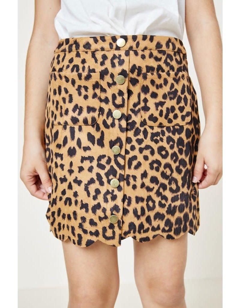 Hayden Girls Leopard Skirt G7231