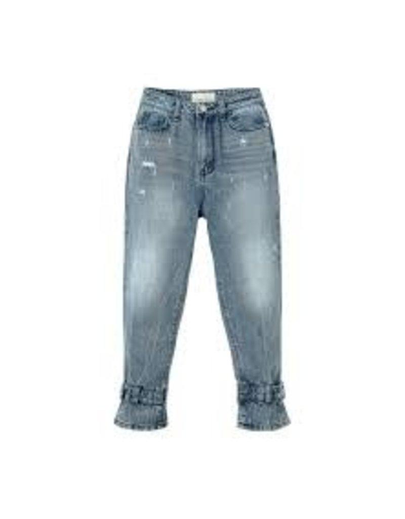 Habitual Girl Habitual Adyson Belted Wide Leg Pant