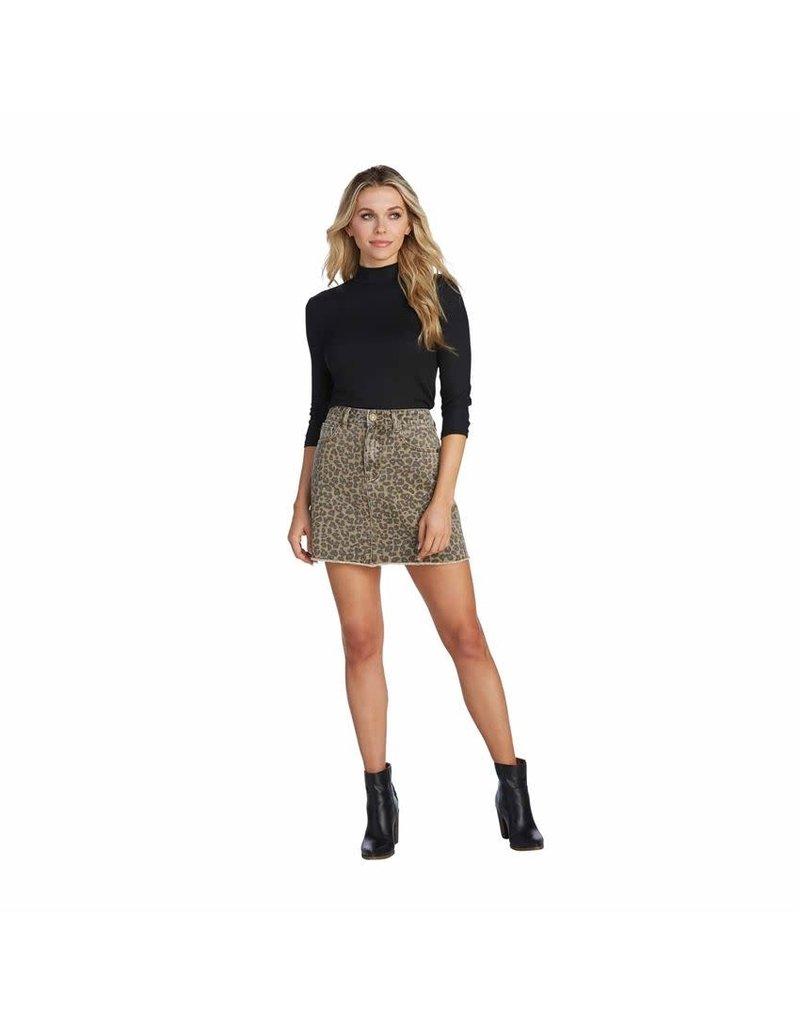 Mud Pie Mud Pie Stevie Leopard Skirt