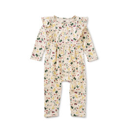 Tea Collection Tea Collection  Snap Front Ruffle Romper