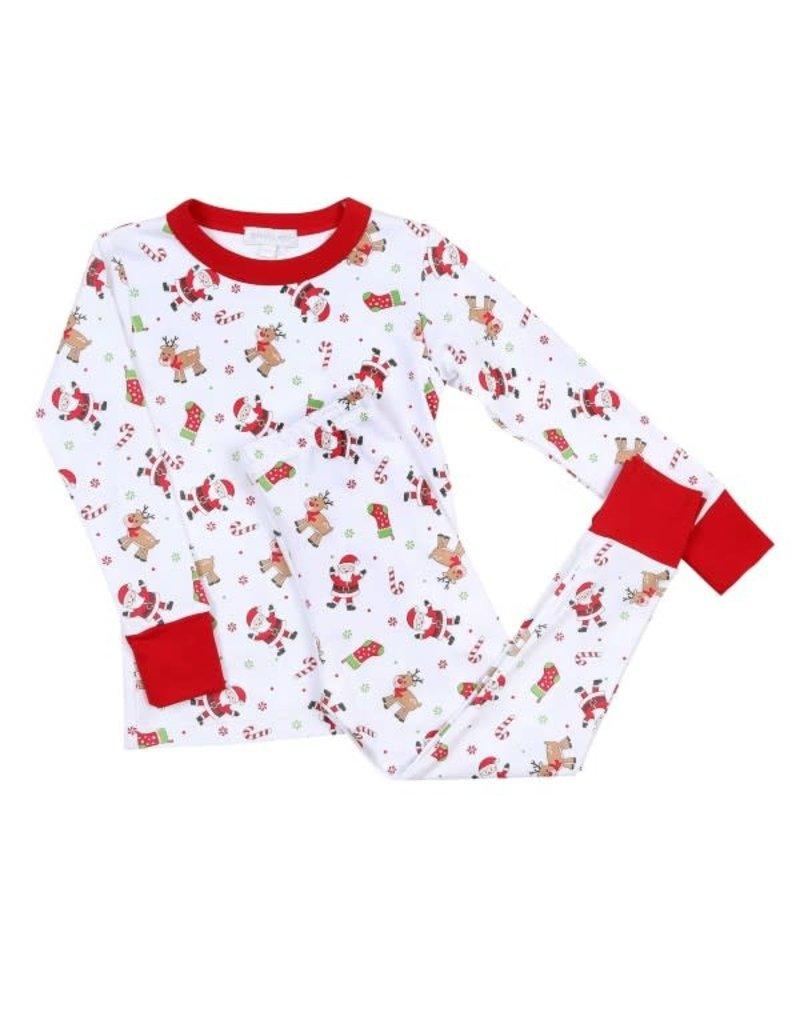 Magnolia Baby Magnolia Baby Christmas Cuties Long Pajama