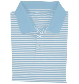 Properly Tied Properly Tied LD Gameday Polo Powder Blue