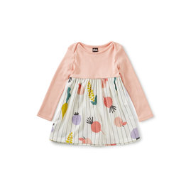 Tea Collection Tea Collection Two-Tone Baby Dress