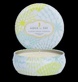 the soi company Aqua de Soi Company  3 Wick Candle
