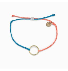 Pura Vida Pura Vida 2 Tone Full Circle Gold Bracelet