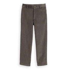 Bella Bliss Bella Bliss Slate Wide Wale Corduroy Boy's Slim Pant