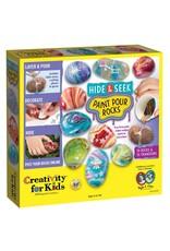 Creativity for Kids Creativity for Kids Hide & Seek Paint Pour Rocks