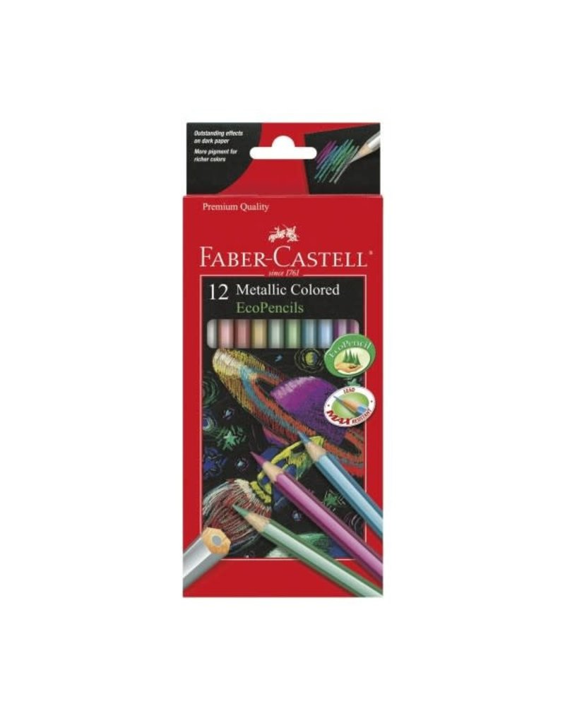 Faber-Castell Faber-Castell Metallic Colored EcoPencils