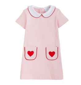 Little English Little English Applique Libby Dress
