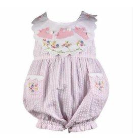 cotton kids Cotton Kids Bunny Reversible Collar Romper