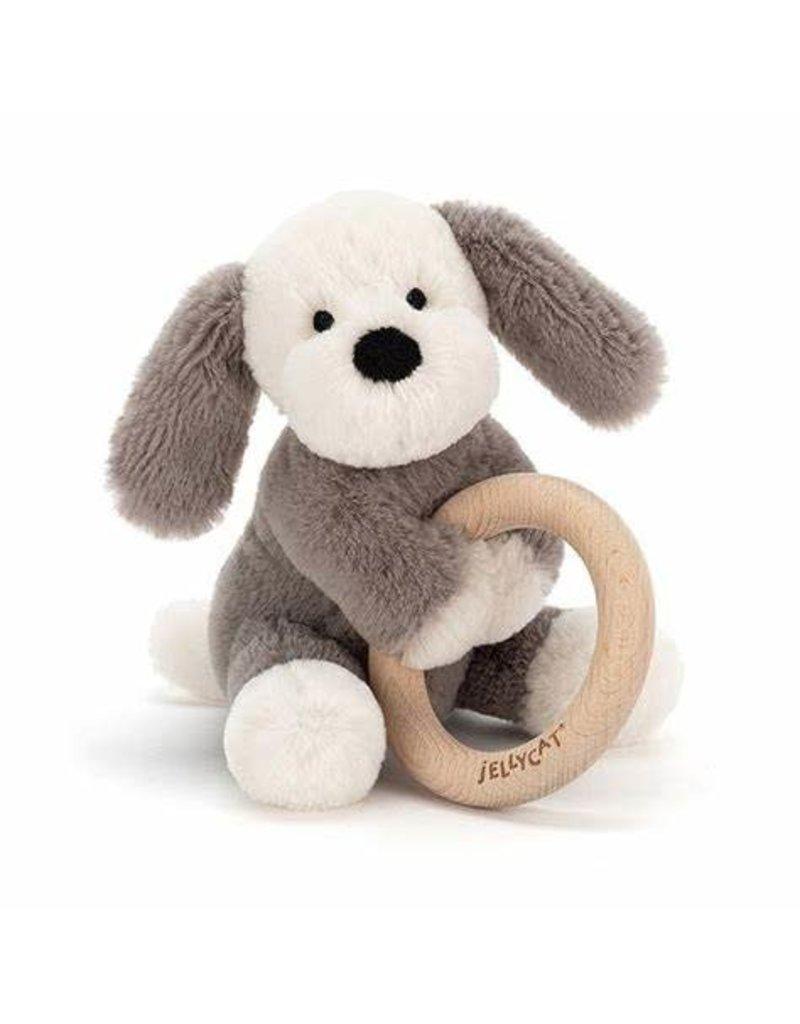 Jellycat Jellycat Shooshu Wooden Ring Toy