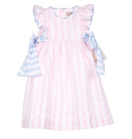 Sophie & Lucas Sophie and Lucas Sunny Stripe Dress w/Bows