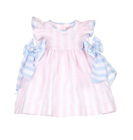 Sophie & Lucas Sophie and Lucas Sunny Stripe Dress w/ Bows