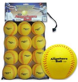 """Thin Air Brands Thin Air The Anywhere Ball 3"""" Baseball 12 Pack"""