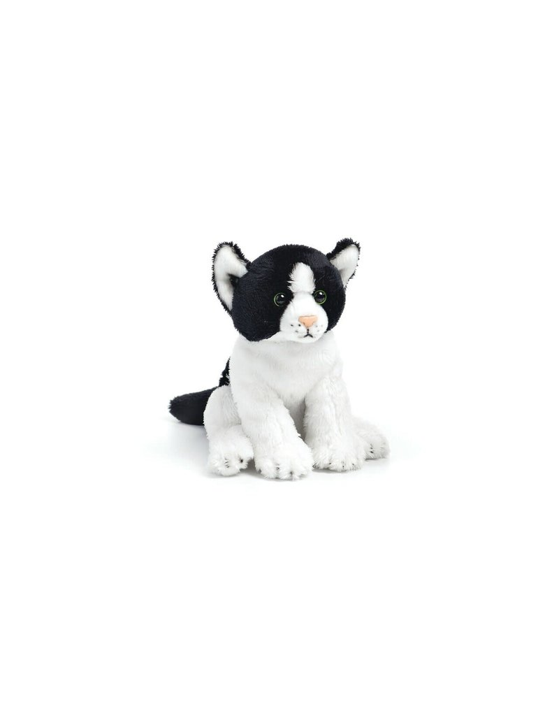 Demdaco Demdaco black & white cat beanbag