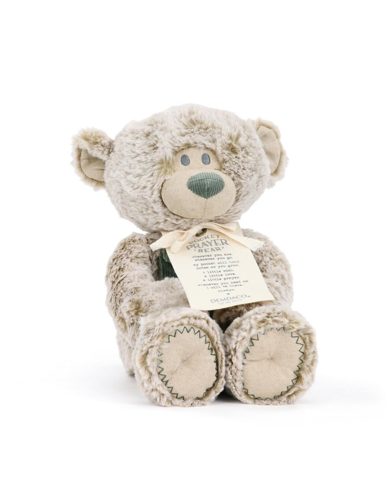 Demdaco Demdaco Pocket Prayer Bear 11""