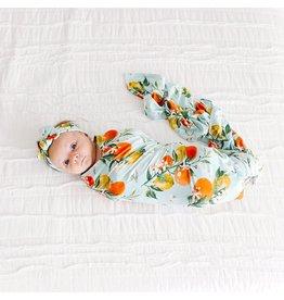 Posh Peanut Posh Peanut Mirabella Infant Swaddle and Headwrap Set