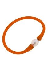 Canvas Style Canvas Style Bali Freshwater Pearl Silicone Bracelet
