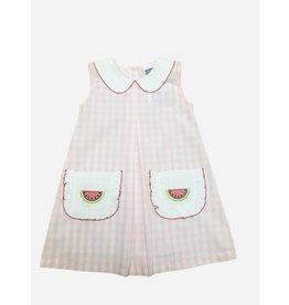 True Brands True Watermelon Applique Dress