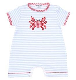 Magnolia Baby Magnolia Baby Gingham Crab Short Playsuit